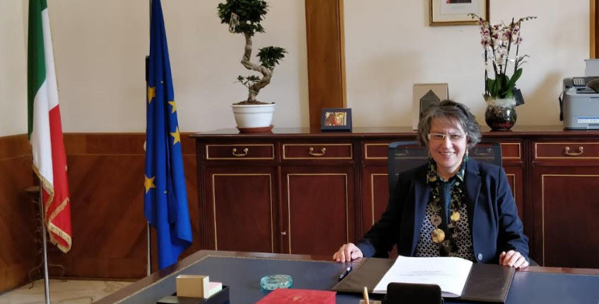 Il saluto del Prefetto Giusi Scaduto che lascia la sede di Enna per quella di Siracusa.