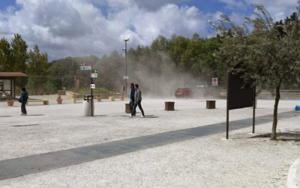 Aggiudicati i lavori per la manutenzione della strada di accesso alla Villa Romana del Casale