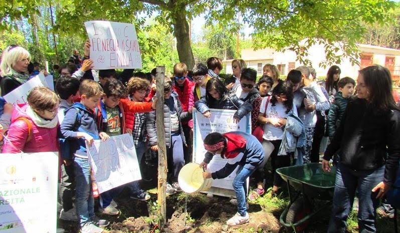 Festa conclusiva del progetto sulla Biodiversità al Lago di Pergusa