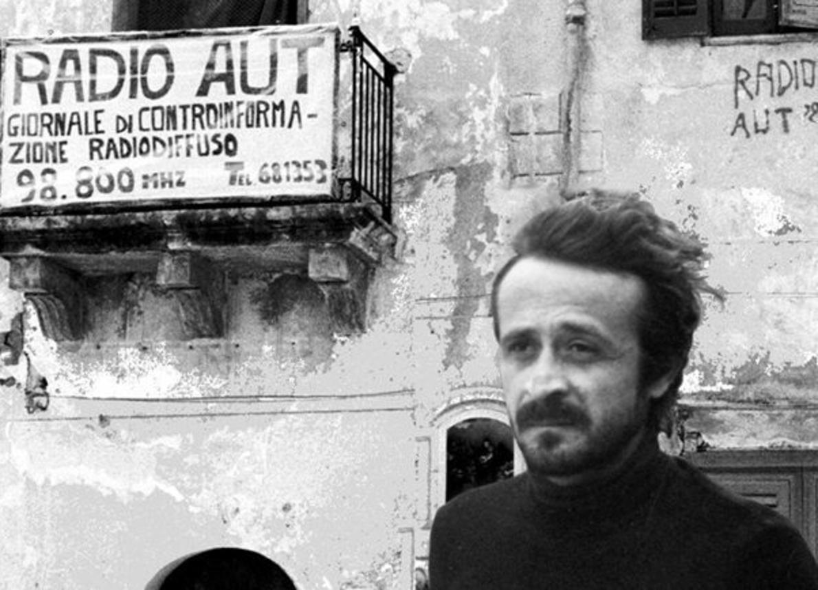"""Troina – Sabato 25 maggio la proiezione del film-show su Peppino Impastato """"radio aut"""""""