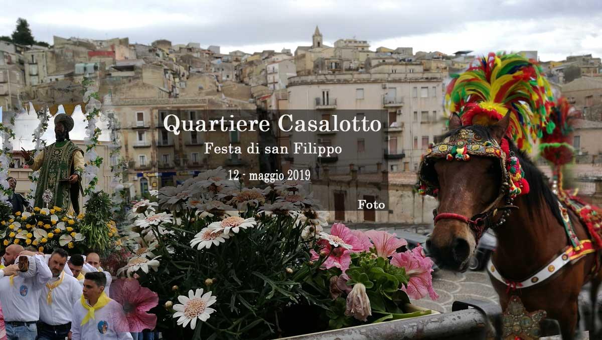[FOTO] – Piazza Armerina, la festa di San Filippo del quartiere Casalotto