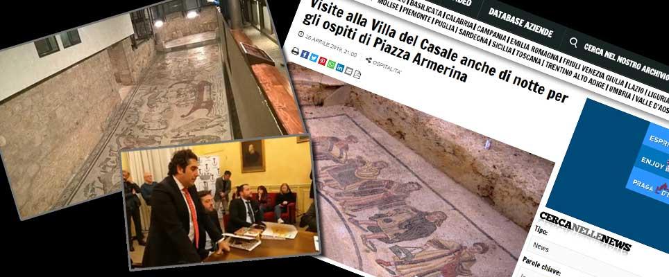 """Visite notturne alla Villa. Il giornale Travelnostop conferma :""""si è trattato di un errore""""."""