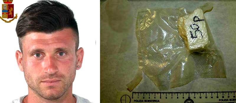 A19: gli agenti bloccano un giovane assorino con 50 grammi di cocaina addosso