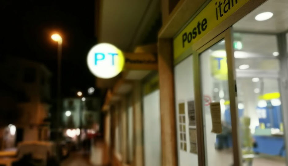 Ufficio postale di Piazza Armerina – Il calendario del pagamento delle pensioni