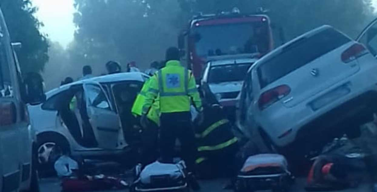ULTIM'ORA : Incidente stradale sulla 117 bis nella zona del parco Ronza