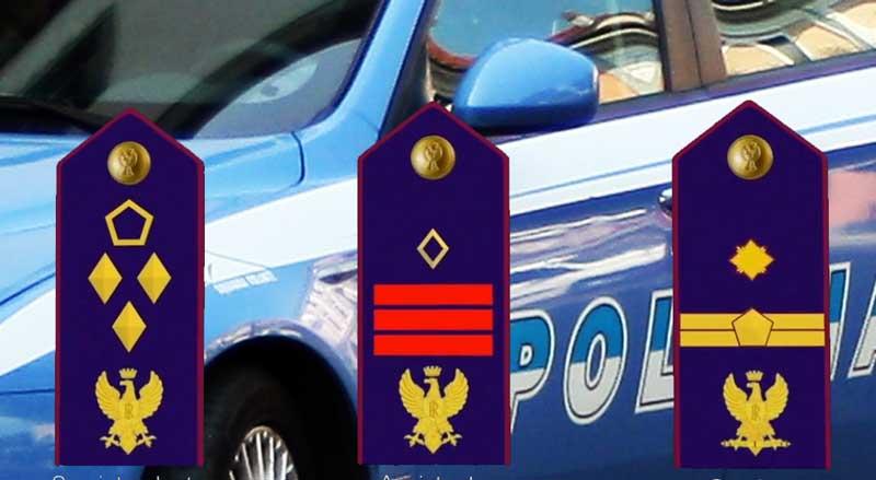 Polizia di Stato:da oggi, 12 luglio,  nuovi distintivi di qualifica