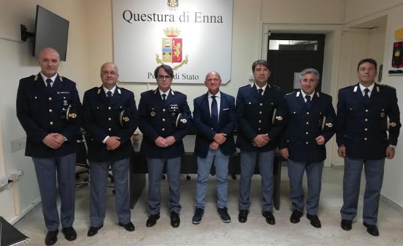 Assegnati alla Questura di Enna e alle Sezioni Polizia Stradale e Polizia Postale e delle  Comunicazioni nuovi Vice Ispettori.