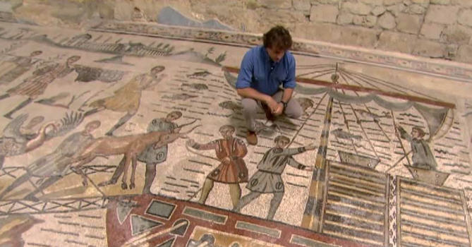 """Il 20 e il 21 luglio la Villa romana del Casale chiuderà in anticipo per registrare una puntata di """"Ulisse: il piacere della scoperta"""""""