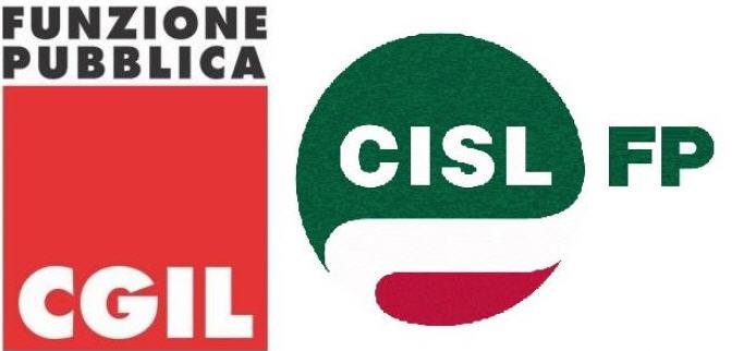 Fp Cgil e Cisl Fp protestano contro l'Amministrazione Comunale di Piazza Armerina