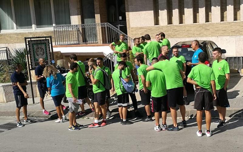 Piazza Armerina – Raduno regionale precampionato arbitri di Basket