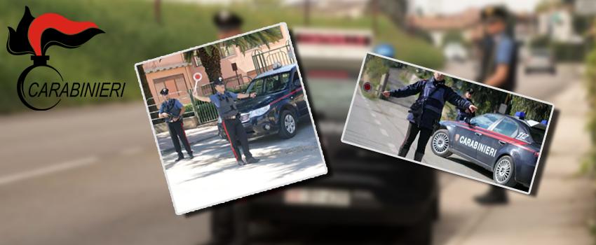 OPerazioni di controllo del territorio da parte della compagnia Carabinieri di Piazza Armerina