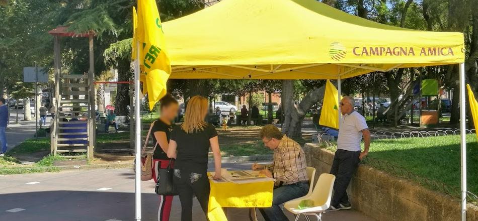 """La Coldiretti di Piazza Armerina promuove la raccolta firme """"Eat Original: smaschera il tuo cibo"""""""