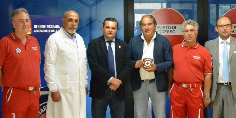 ASP Enna. Servizio di accoglienza della Croce Rossa presso il Pronto Soccorso dell'Umberto I