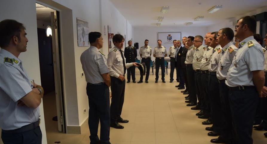 Guardia di Finanza Enna – Visita del comandante regionale della Sicilia al comando provinciale.