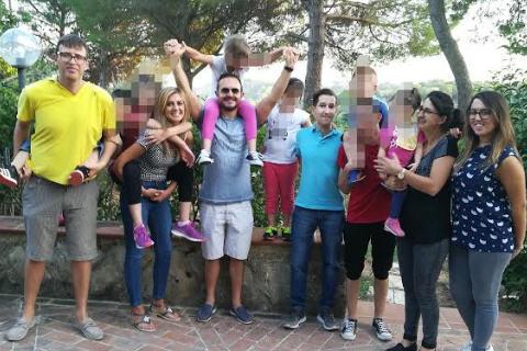 """I giovani del Rotaract Club Piazza Armerina in visita alla casa famiglia """"Nike"""""""
