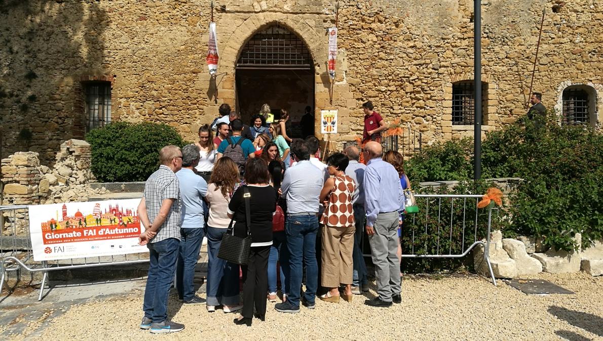 [FOTO] Un successo le Giornate FAI a Piazza Armerina. Il castello Aragonese visitato da oltre 1500 persone