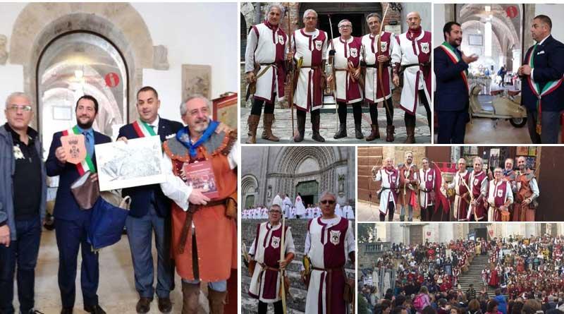 Enna – La compagnia degli Arcieri del Castello alla disfida di San Fortunato a Todi: esperienza indimenticabile