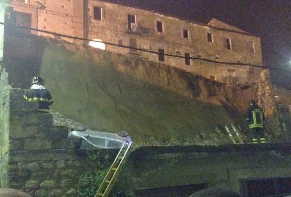 Piazza Armerina – A breve potrebbero partire i lavori per la ricostruzione del muro di sostegno del Carmine.