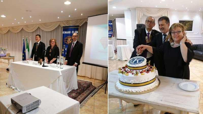 Tradizionale cerimonia del Passaggio della Campana del Kiwanis Club di Enn