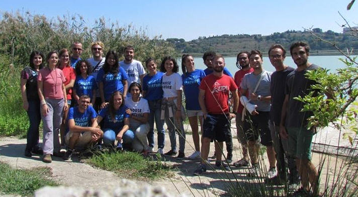 Volontari LIPU ripuliscono le aree di birdwatching di Pergusa.