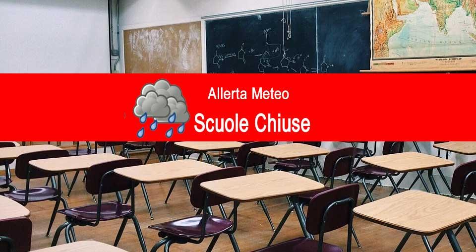 Allerta meteo – Scuole Chiuse a Piazza Armerina domani martedì 12 novembre