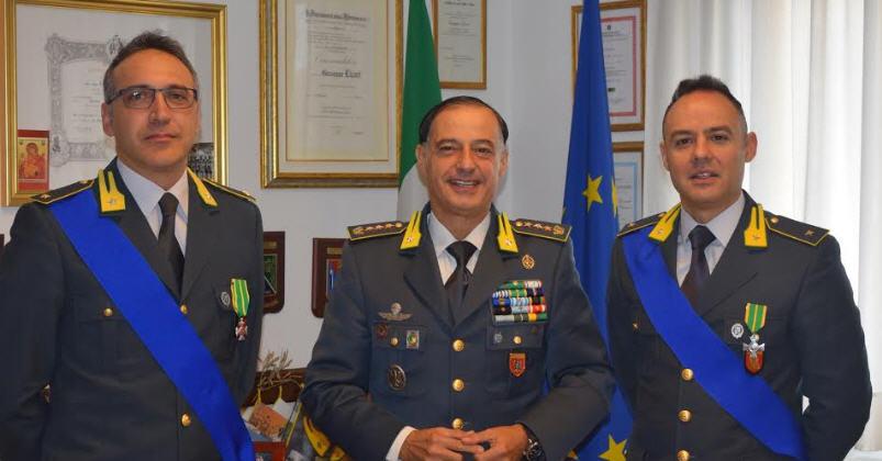 Avvicendamenti al comando provinciale della Guardia di Finanza di Enna