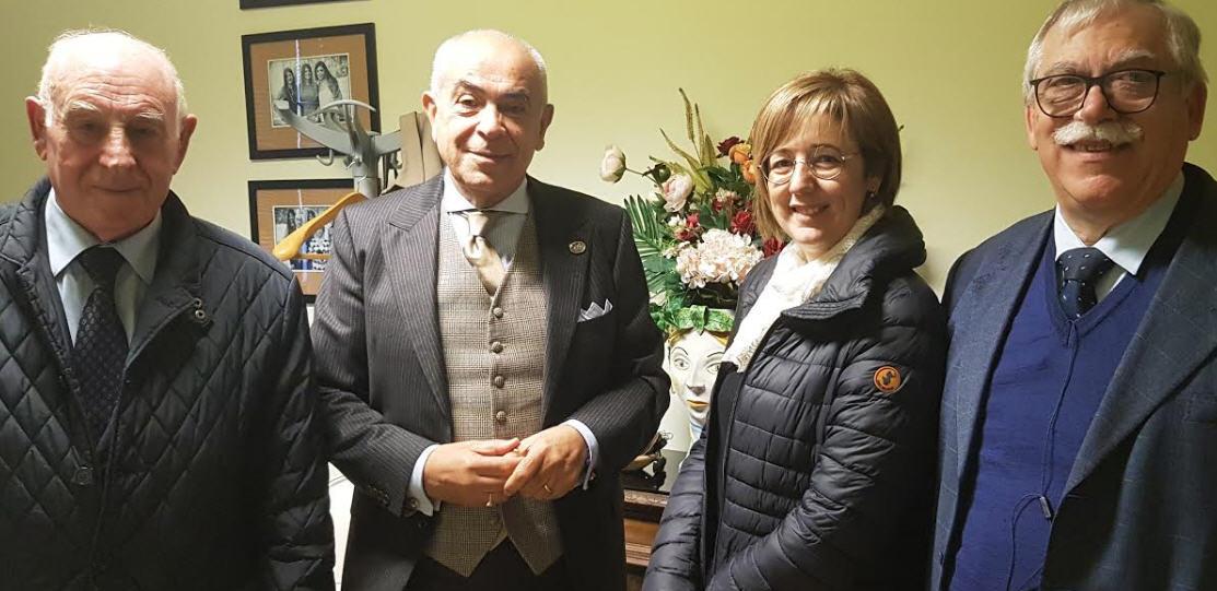 Cna pensionati incontra il nuovo dirigente dell'asp dott. Francesco Iudica