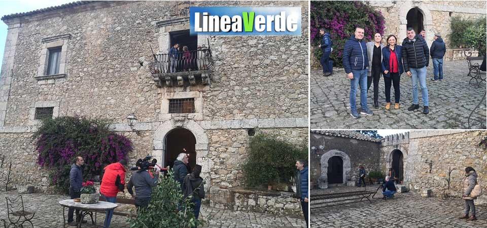 La trasmissione Linea Verde a Valguarnera per registrate la puntata del 24 novembre