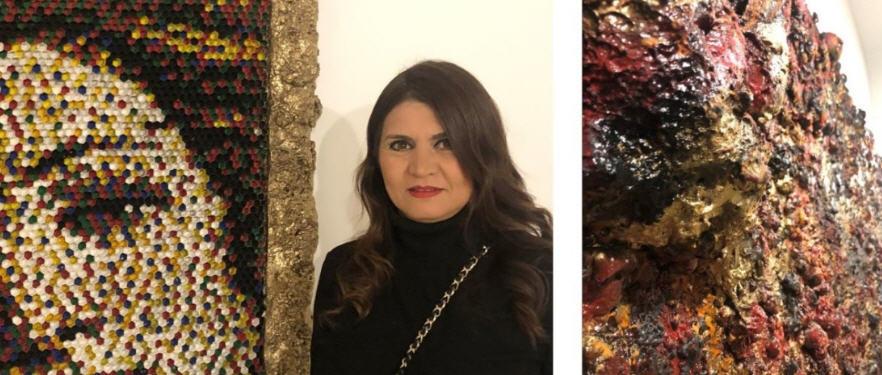 La pittrice piazzese Danila Mancuso espone i propri lavori a Malta.