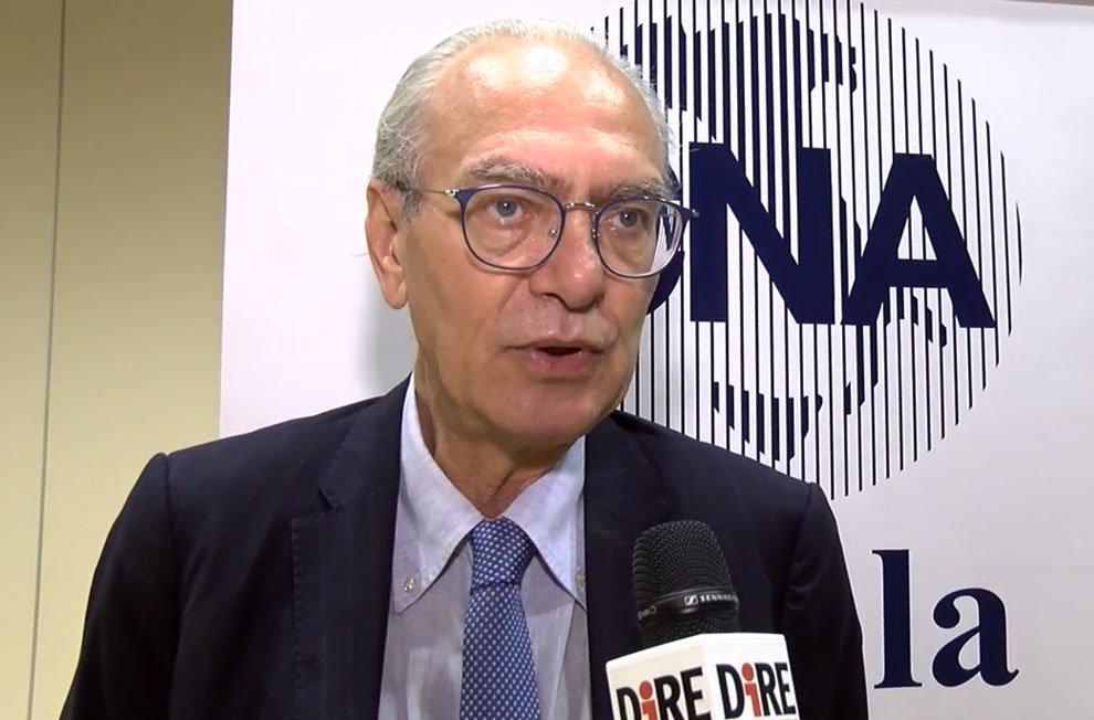 Il segretario generale della CNA, Sergio Silvestrini all'Assemblea della CNA di Enna