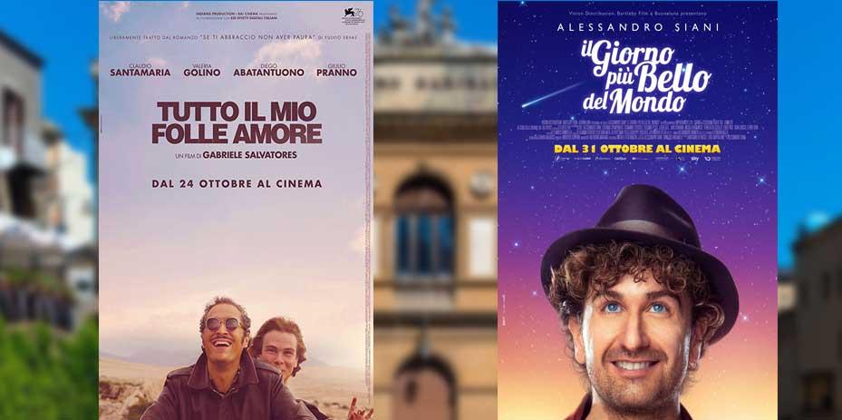 """Piazza Armerina – Doppia programmazione al Cine-Teatro Garibaldi: """"Tutto il mio folle amore"""" e """"il giorno più bello del mondo"""""""