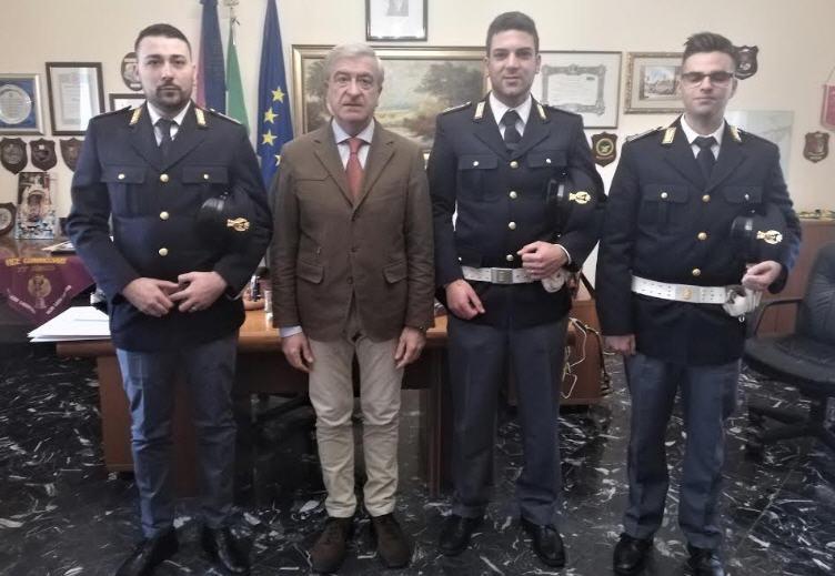 Assegnati alla Questura di Enna tre Agenti della Polizia di Stato.