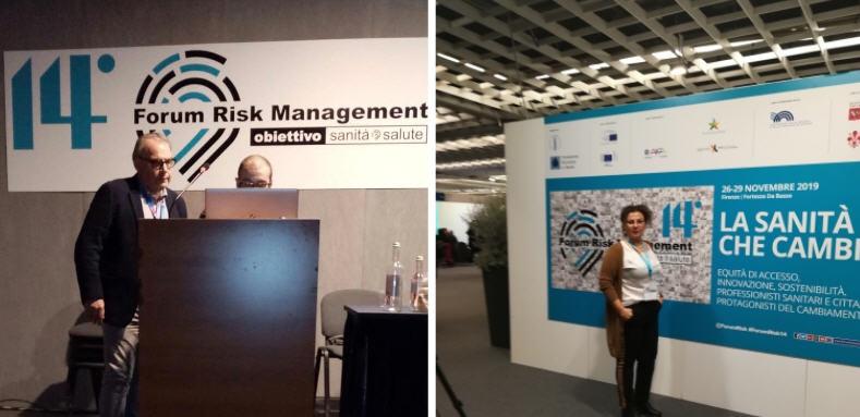 L'Asp di Enna presenta due lavori scientifici al 14 Forum Risk Management di Firenze.