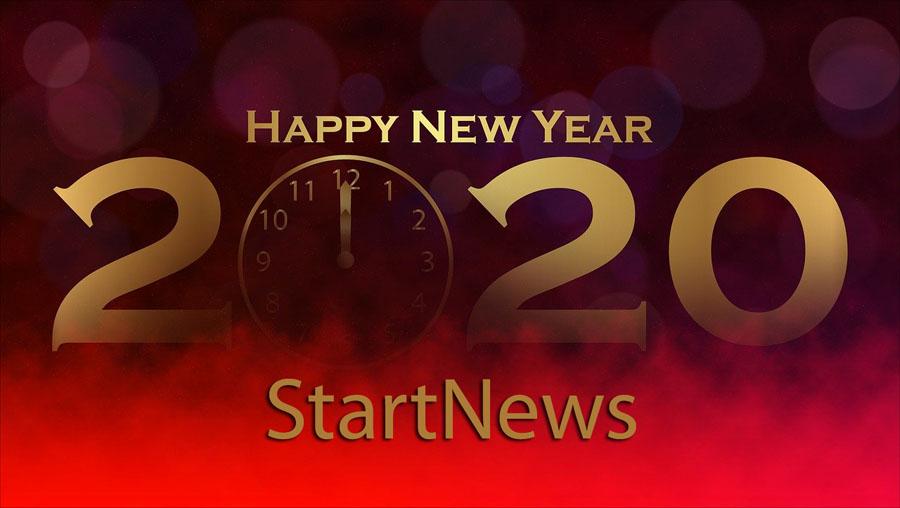 Un felice 2020 dalla redazione di StartNews
