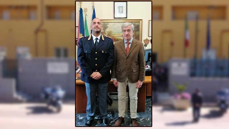 Il Vice Questore Aggiunto della Polizia di Stato dr. Ciavola nuovo Dirigente della Squadra Mobile della Questura di Enna