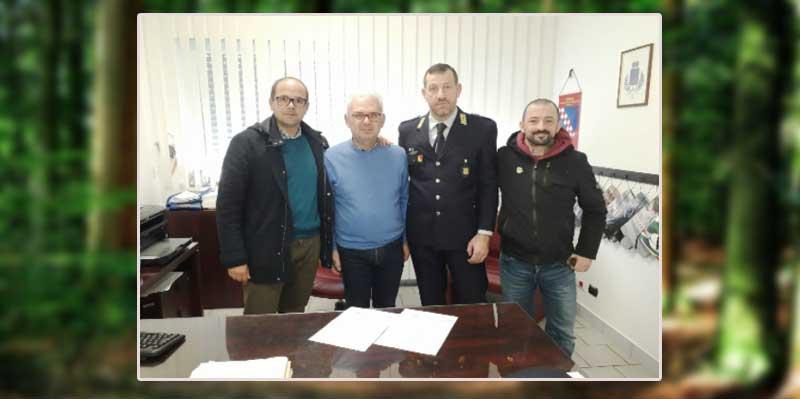 Siglata convenzione tra comune di Troina e Corpo Volontari Guardie Ambientali