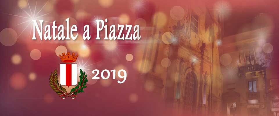 Natale a Piazza Armerina – Le manifestazioni organizzate dal comune