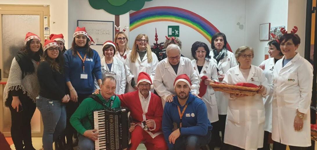 Natale di condivisione e festa nei presidi ospedalieri dell'Azienda Sanitaria Provinciale di Enna.