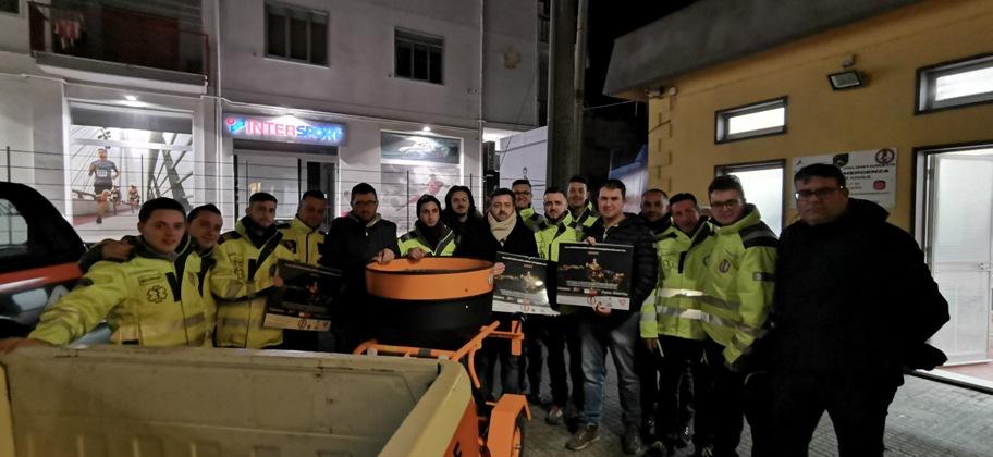 Piazza Armerina – Presentate le attrezzature acquistate da Armerina Emergenza con una raccolta fondi