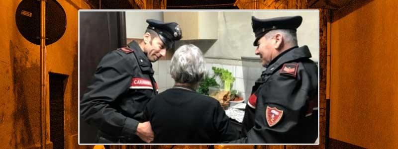 Barrafranca: 81 anni, esce di casa in piena notte e vaga per la città. Rintracciata da carabinieri e accompagnata a casa