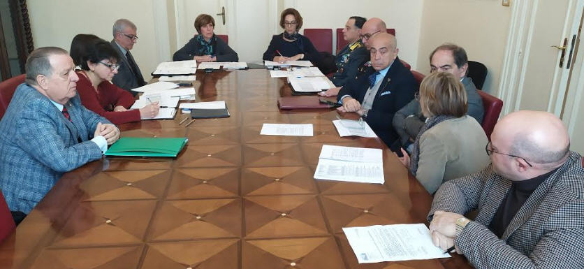 Riunione in Prefettura dedicata alla sicurezza dei presidi sanitari