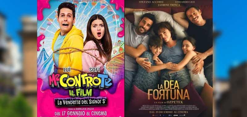 """PIazza Armerina, al Cine Teatro Garibaldi  """"Me contro te – La vendetta del Signor S"""" e """"La Dea Fortuna"""""""