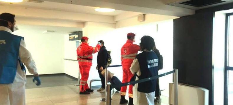 Aroporto di Catania – Controlli sui passeggeri provenienti da voli internazionali