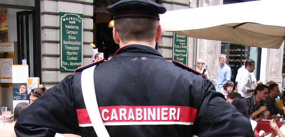 Attività dei carabinieri in occasione dei festeggiamenti per il Carnevale