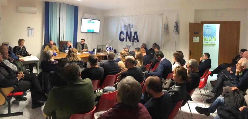 La CNA incontra l'On. Andrea Giarrizzo e il Sen. Fabrizio Trentacoste.