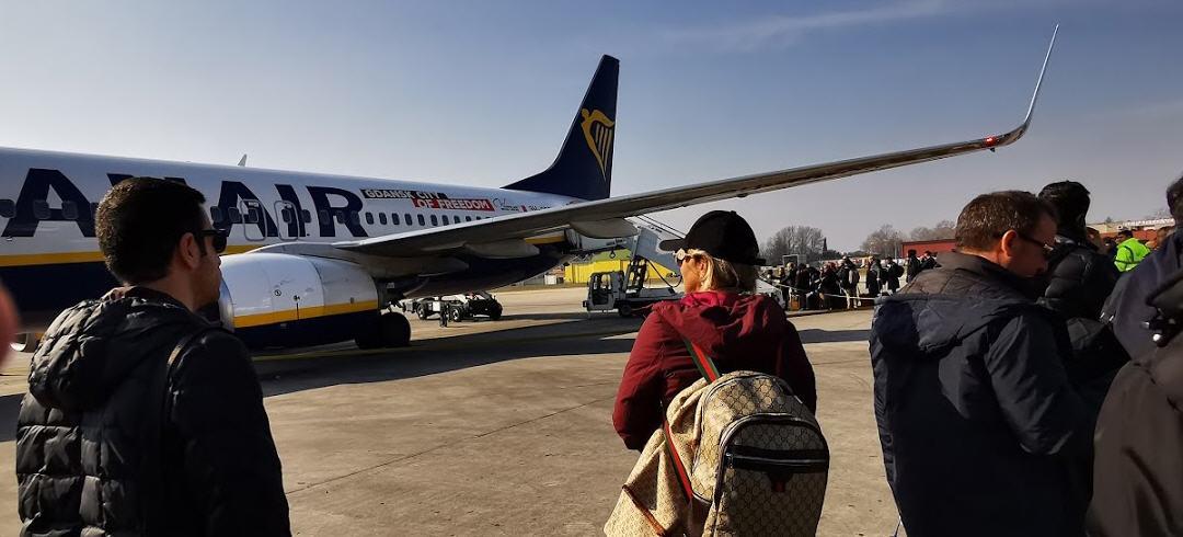 Catania, Aeroporto Fontanarossa – Passeggeri in crescita nei primi mesi del 2020