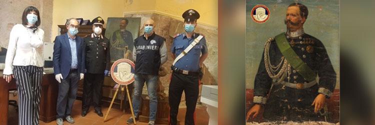 I Carabinieri del Nucleo Tutela Patrimonio Culturale di Palermo presentano il consuntivo dell'attività del 2019.