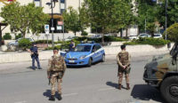 Piazza Armerina – Militari impiegati nei servizi di controllo per il COVID -19.