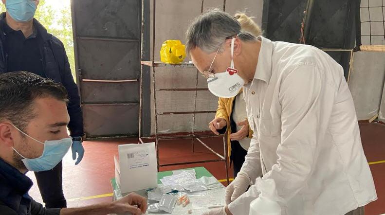 Coronavirus, al via i primi test rapidi nel Comune di Troina