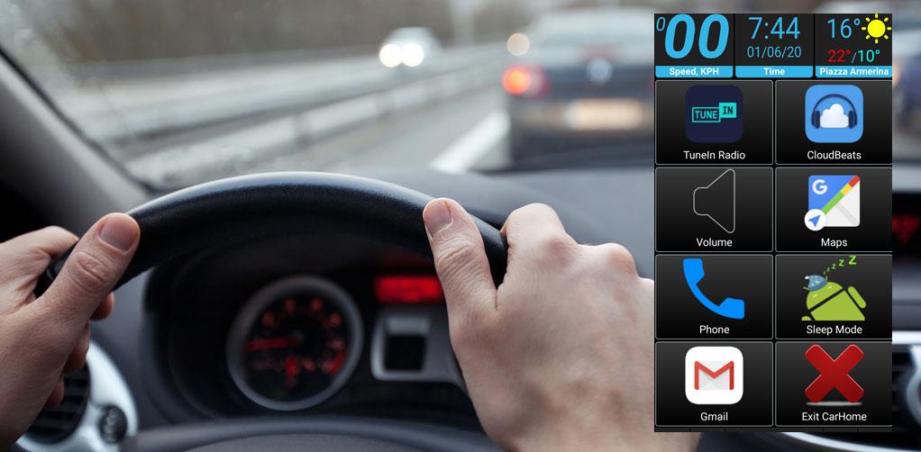 App utili – CarHome Ultra: cruscotto virtuale a facile consultazione.